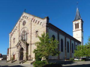 Église Saints Pierre et Paul de Hindisheim